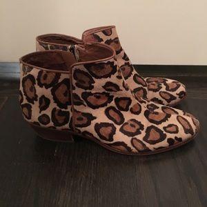 Sam Edelman 'Petty' Ankle Boot in Leopard